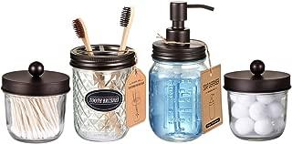Best mason jars bathroom set Reviews