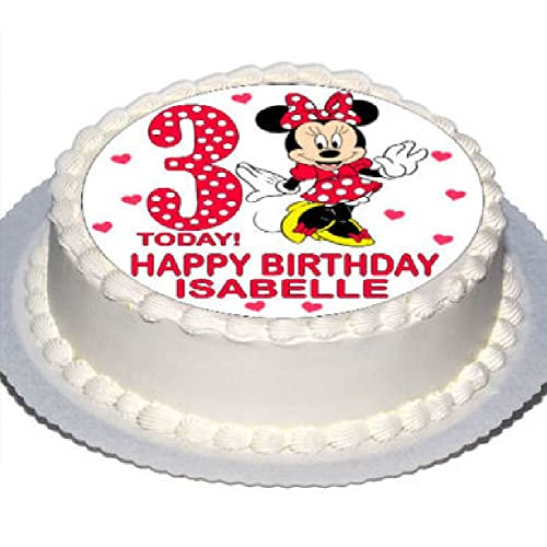 Fabulous Minnie Mouse Cake Amazon Co Uk Funny Birthday Cards Online Inifodamsfinfo