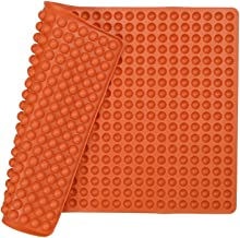 Silicone Baking Mat Cooking Sheets,Baking Molds,for Pets Non-Stick, Fat Reducing Mats for Healthy Cooking,1115.5 in. (Orange-0.47in)