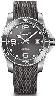 Longines - Hydroconquest L3.781.4.76.9 Reloj automático con esfera gris para hombre