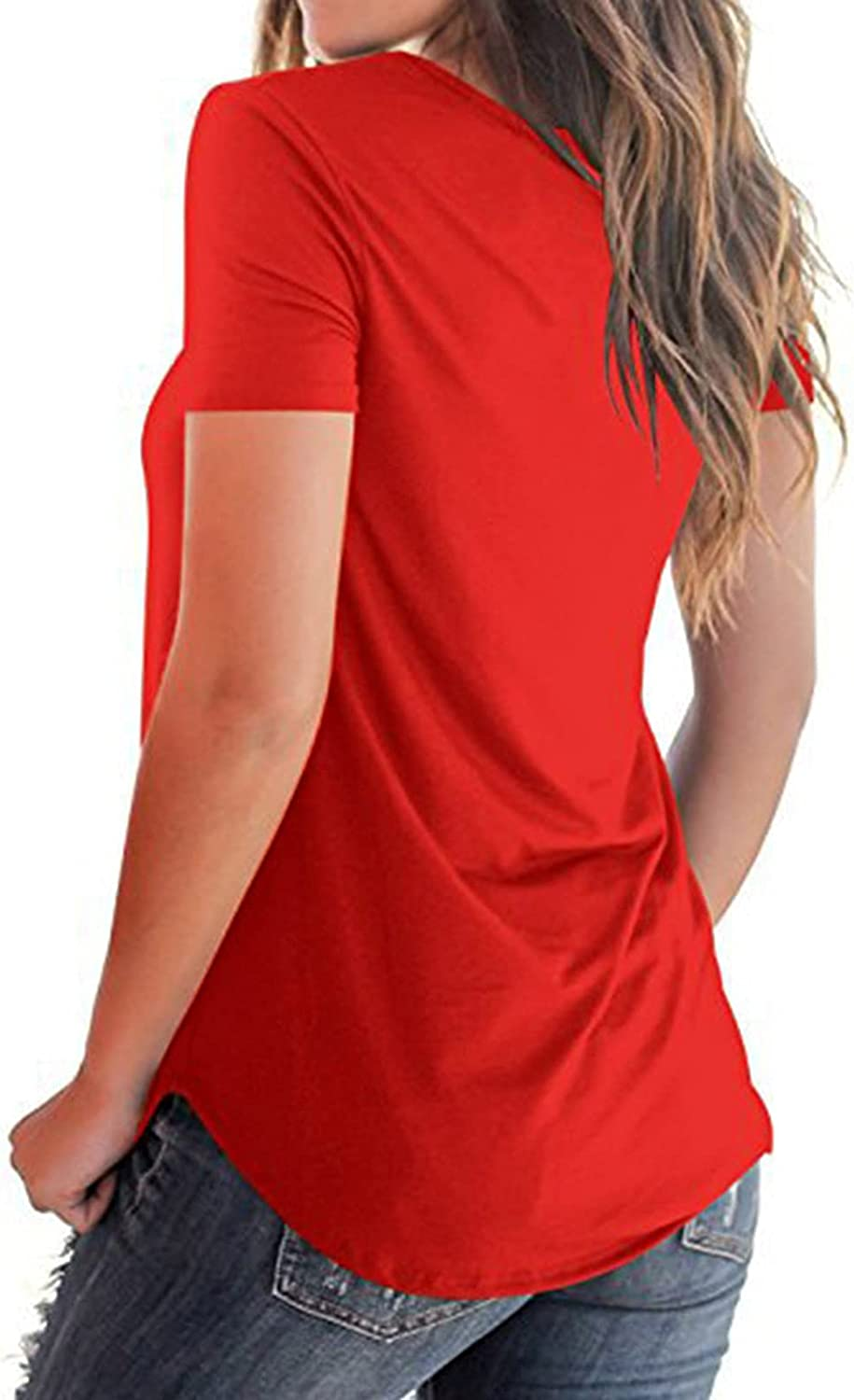 Women's Shirts Cross Casual Tank Tops Basic Blouse Loose Cute Printed Running Sports Athletic T Shirts