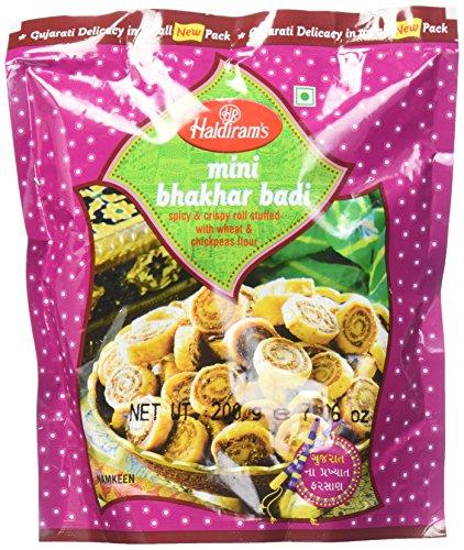 Haldirams Mini Bhakhar Badi, 1er Pack (1 x 200 g)