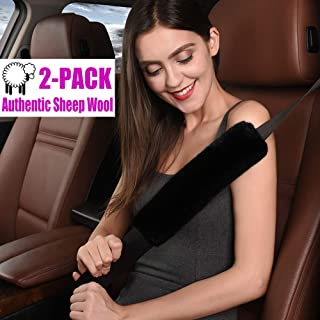 Best wool seat belt covers Reviews