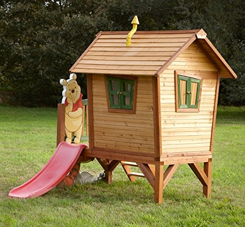 Casa de juguete Madera Casa de juguete parte cabaña Winnie the Pooh Jardín Niños Madera Parte cabaña: Amazon.es: Jardín