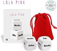 O³ Dés Coquins Lola Pink – Egaillez Vos soirées Grace aux 2 Dés Lola Pink Tout..