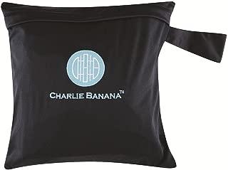 Charlie Banana Tote Bag Black Blue