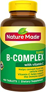 Nature Made Super B Complex Tablets , New Larger Count , 460 Count Single & Multi Packs (Two Bottles each of 460 Tablets) ...
