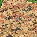 Malla de Camuflaje Sombreo Jardín, Digital Del Desierto, Persianas De Caza De Ciervos Pato Que Acampan Protector Solar Cubierta Malla Toldo Sombra Balcón Ventana Dormitorio Pared Techo Decoración Red