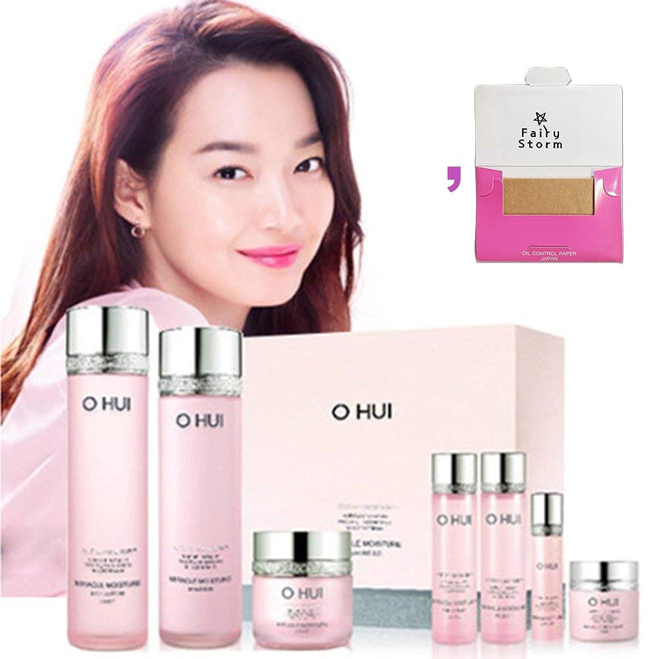 サイドボード主流インスタンス[オフィ/O HUI]韓国化粧品LG生活健康/Miracle Moisture three kinds of special set/ミラクルモイスチャー3種のスペシャルセット+[Sample Gift](海外直送品)