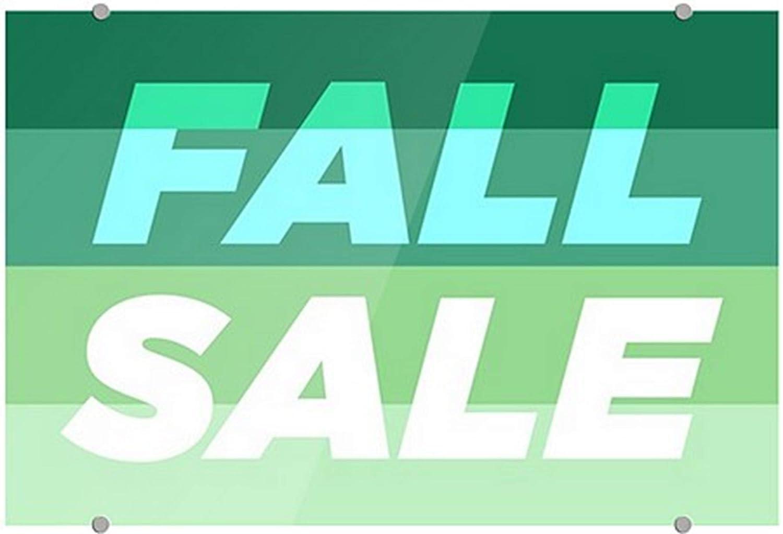 Modern Gradient Premium Acrylic Sign CGSignLab 36x24 Fall Sale