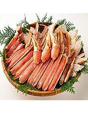 OWARI 蟹セット 生ズワイガニ バルダイ種 カット済み 冷凍 加熱用 1kg 焼き蟹 カニ鍋 かにしゃぶに ギフト