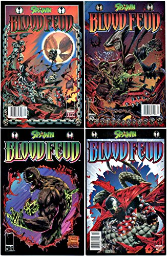Spawn Blood Feud #1-4 Complete Limited Series (Image Comics...