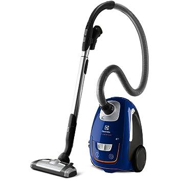 Electrolux ZUSORIGDB+ Aspiradora silenciosa con bolsa y cepillo AeroPro Parketto Pro, 700 W, 3.5 litros, 61 Decibelios, Azul: Amazon.es: Hogar