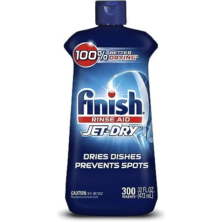 Finish Jet-dry, Rinse Agent, Ounce Blue 32 Fl Oz