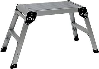 Oypla 150kg plegable Plataforma de trabajo de aluminio Step Up EN131 Banco Escalera