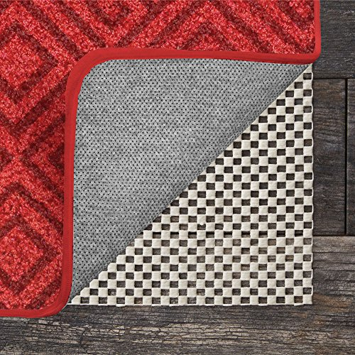 GRIP MASTER 2X Extra Thick Area Rug Cushioned Gripper Pad, 2 Feet x 8 Feet, for Hard Surface Floors, Maximum Gripper and Cushion for Under Rugs, Premium Protection Pads, Many Sizes, Rectangular