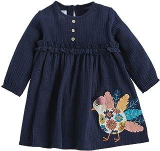 Mud Pie Baby Girls' Long Sleeve Dress