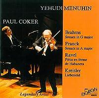 Brahms/Franck: Sonatas