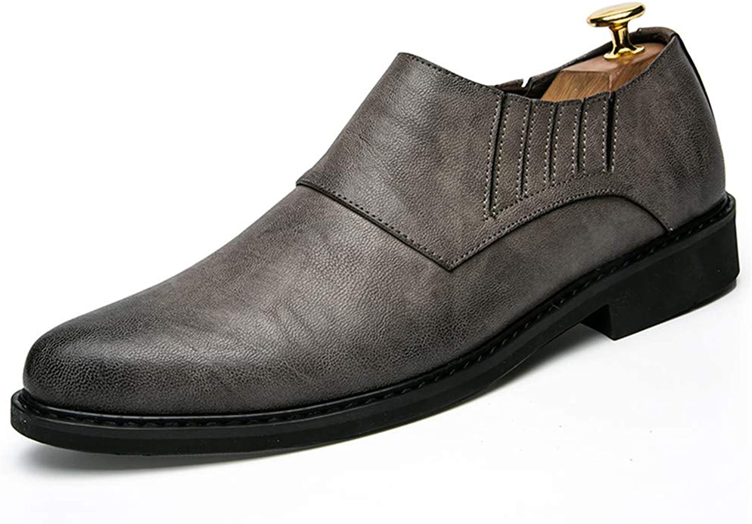 Z.L.F shoes Men's Business Oxford Fashion British Comfortable and Wear-Resistant Formal shoes Leather shoes
