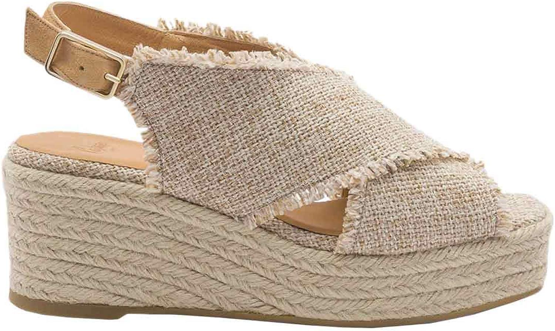 CASTANER QUEIRA Sandalen Sandaletten Damen Beige Sandalen Sandaletten