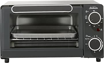 Sunbeam TSSBTV6001 4-Slice Toaster Oven, Black