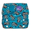 Bambino Mio, Miosolo All-in-One Cloth Diaper, OneSize, Zebra Crossing