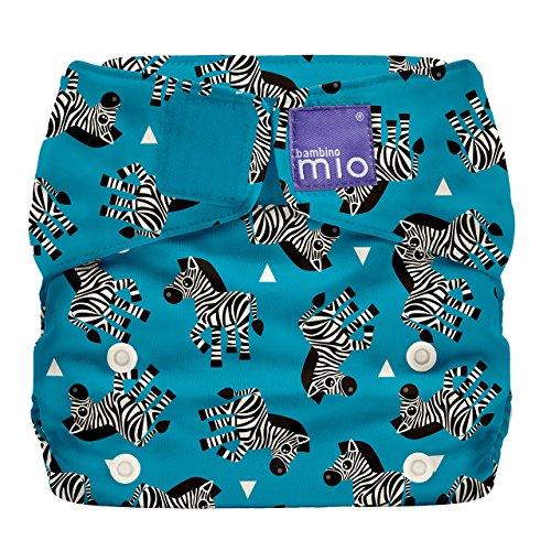 Bambino Mio SO ZEB Miosolo Zebra, Pannolino Lavabile Tutto-In-Uno, Multicolore