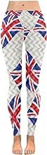 InterestPrint Custom Kiss Red Lipstick Stretchy Capri Leggings Skinny Pants for Yoga Running Pilates Gym(2XS-5XL)