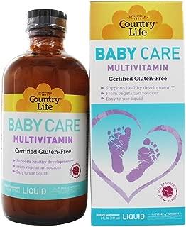 Country Life - Maxi Baby Care Liquid multivitamin Natural Raspberry Flavor - 6 oz.