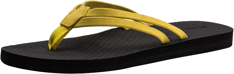 URRAX Women's Slim Flip Flops Beach Sandals Thong Lightweight Summer Slippers