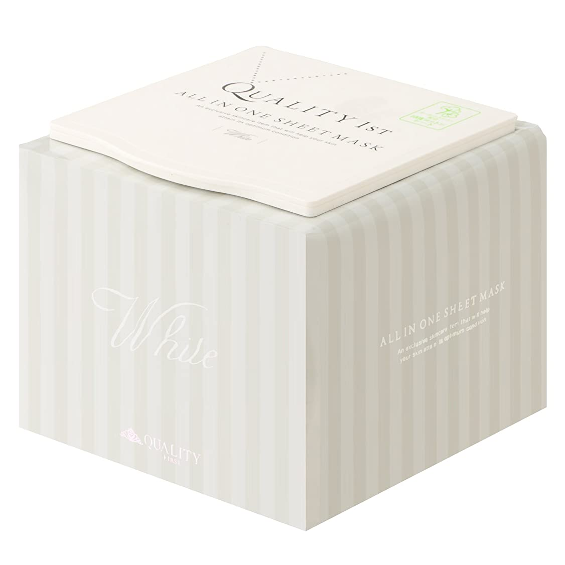 脚本デモンストレーションアレルギー性オールインワンシートマスク ホワイトEX (30枚) BOX