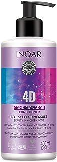 Inoar Condicionador 4D 400 Ml, Inoar