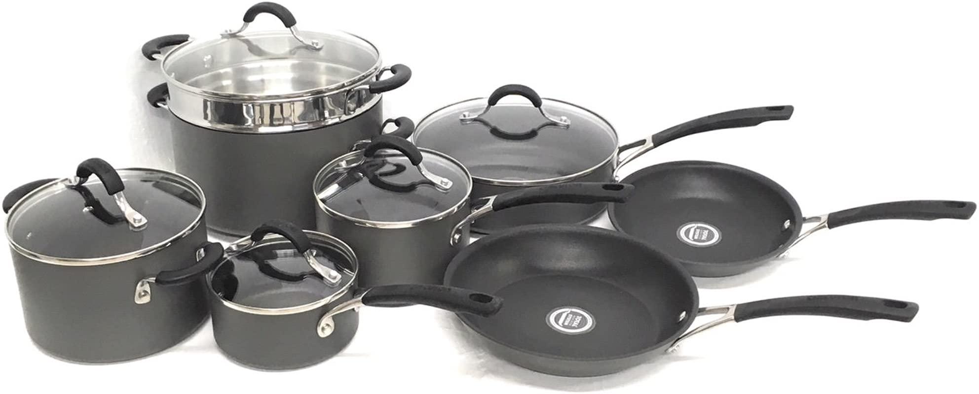 Circulon Innovatum Hard Anodized Nonstick 13 Piece Cookware Set