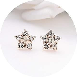 Simple Gold Color Star Earrings For Women Earrings Brincos Oorbellen