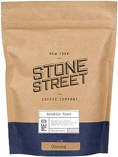 BROOKLYN SIGNATURE BLEND   Freshly Ground Coffee  1 LB Resealable Bag   Medium – Dark Roast Level - Bold & Balanced   Specialty Handcrafted 100% Arabica   Universal Grind Size