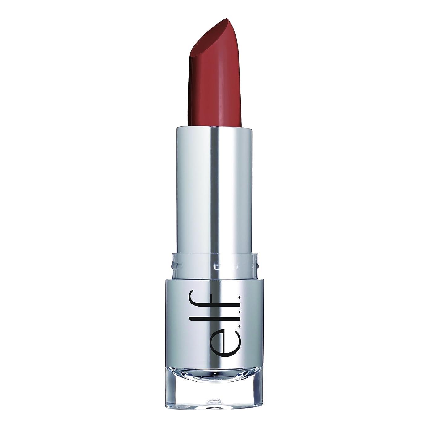 狂気熱心がっかりするE.L.F. Cosmetics, ビューティフルベア, サタンリップスティック, タッチオブブラシ, 0.13 oz (3.8 g)