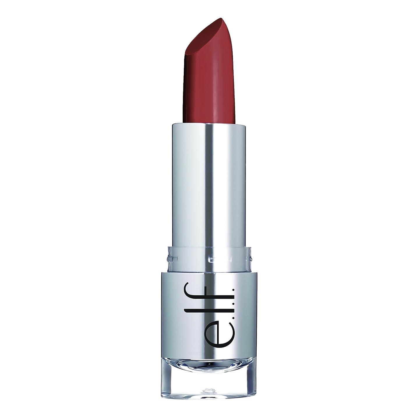 先のことを考える認証かもめE.L.F. Cosmetics, ビューティフルベア, サタンリップスティック, タッチオブブラシ, 0.13 oz (3.8 g)