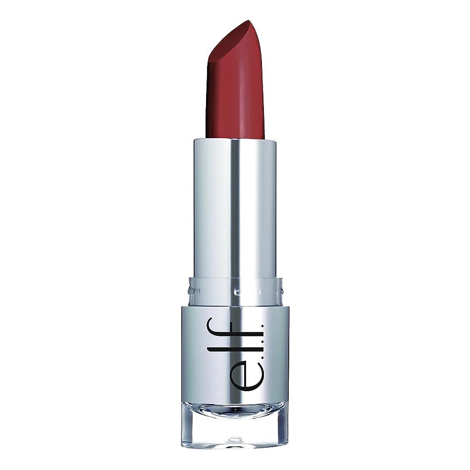 起きろサイドボード気候E.L.F. Cosmetics, ビューティフルベア, サタンリップスティック, タッチオブブラシ, 0.13 oz (3.8 g)