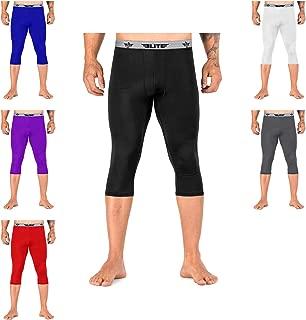 Elite Sports 3/4 Compression Tights, Spat Pants