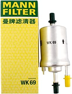 Mann-Filter WK69 Inline Fuel Filter (Pack of 2)