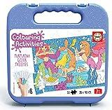 Educa - Colouring Activities: Sirenas Puzzle de 50 Piezas para Colorear,...
