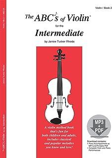 ABC3X - The ABCs of Violin for the Intermediate, Book 2 (Book & MP3/PDF)