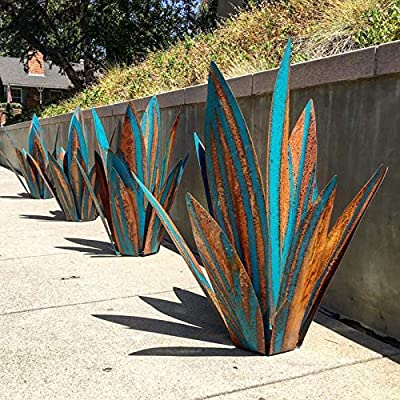 Amazon - Save 80%: Diy Metal Art Tequila Rustic Sculpture Garden Yard Sculpture Home Decor 9 le…