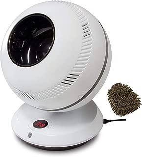 GreenTech Environmental PureFlow QT7 Bladeless Fan, 90 Degree Oscillation, 12 Speeds (Complete Set) w/Bonus: Premium Microfiber Cleaner Bundle