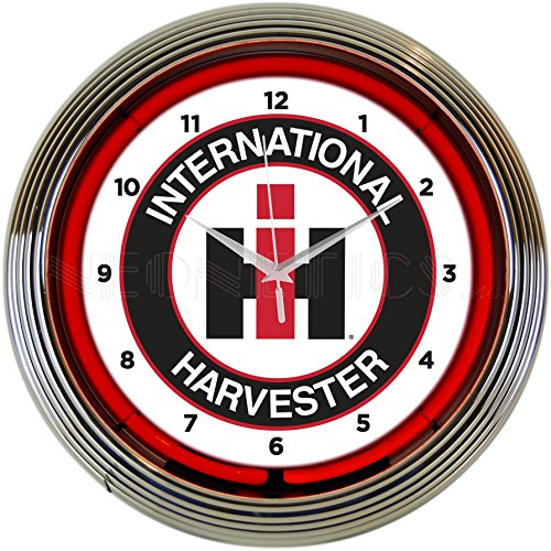 Neonetics International Harvester NEON Clock