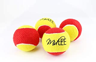 Midlee 3 Inch Large Tennis Balls for Dogs, Pack of 4 Durable Toy Balls