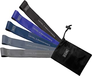 EDX Resistance Loop Bands for Exercise, Fitness & Workouts | 5 Pack