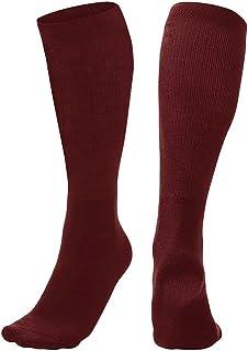Multi-Sport Socks, Maroon, Medium