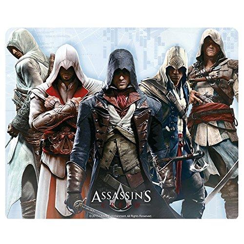 Assassins Creed - muismat muismat - Altair, Ezio, Connor, Edward, Arno - 23 x 19 cm