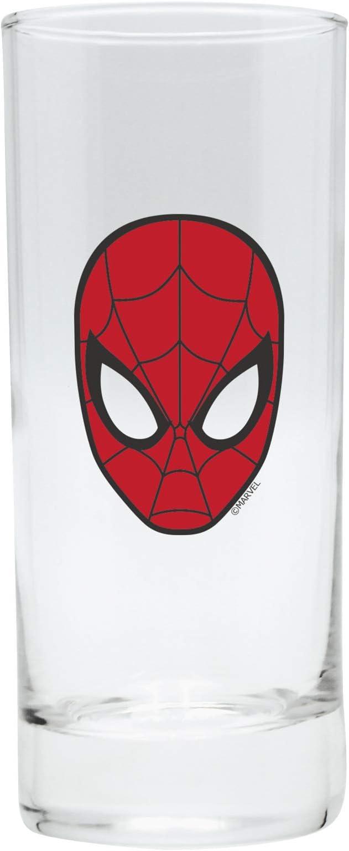 ABYstyle - Marvel – Spiderman Pack de cabeza de Spiderman – Vaso + Llavero + Mini Taza